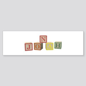 Jonah Alphabet Block Sticker (Bumper)