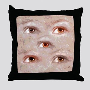 Eyes (1) Throw Pillow