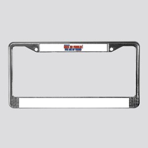 Spanish 101 License Plate Frame