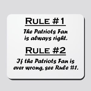 Patriots Mousepad