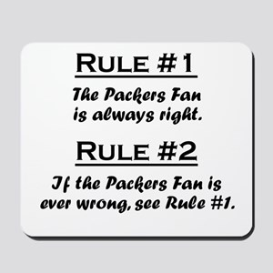 Packers Mousepad
