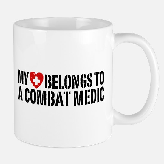 My Heart Belongs To Combat Medic Mug