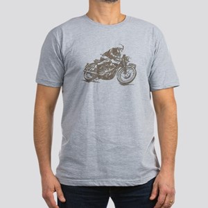 RETRO CAFE RACER Men's Fitted T-Shirt (dark)