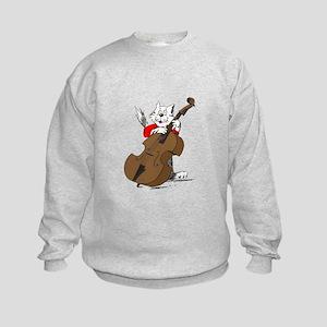 String Bass Cat III Kids Sweatshirt