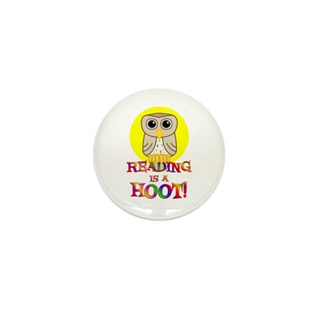 Reading Mini Button (100 pack)