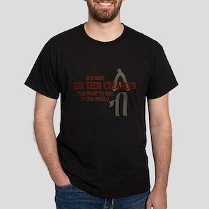 Courage (Amharic) Dark T-Shirt