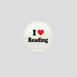 I Heart Reading: Mini Button