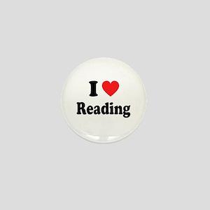I Heart Reading: Mini Button