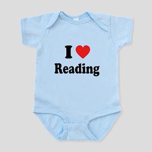 I Heart Reading: Infant Bodysuit
