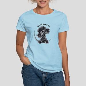Black Poodle Lover Women's Light T-Shirt