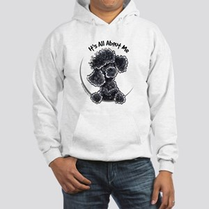 Black Poodle Lover Hooded Sweatshirt