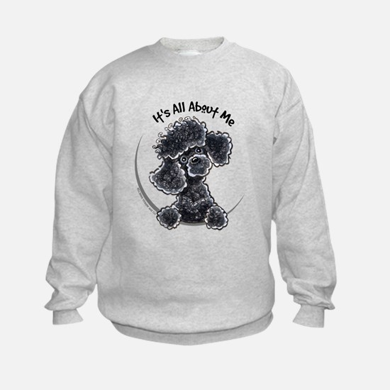 Black Poodle Lover Sweatshirt