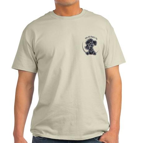 Black Poodle IAAM Pocket Light T-Shirt