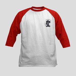 Black Poodle IAAM Pocket Kids Baseball Jersey