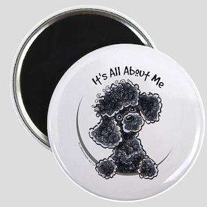 Black Poodle Lover Magnet