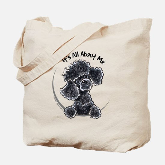 Black Poodle Lover Tote Bag