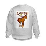 Cowgirl Kids Sweatshirt