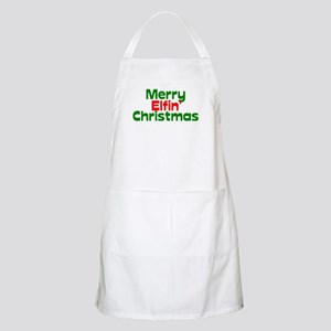 Merry Elfin' Christmas Apron