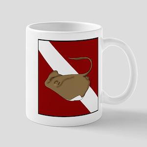 SCUBA stingray Mug