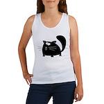 Cute Black Cat Women's Tank Top