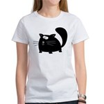 Cute Black Cat Women's T-Shirt