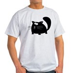 Cute Black Cat Light T-Shirt