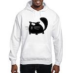 Cute Black Cat Hooded Sweatshirt