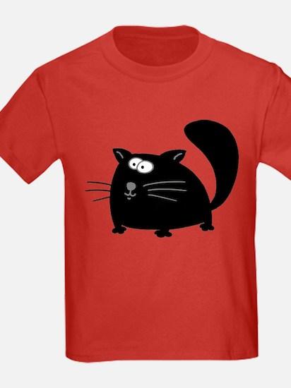 Cute Black Cat T