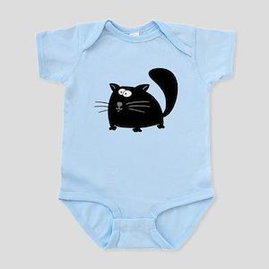 Cute Black Cat Infant Bodysuit