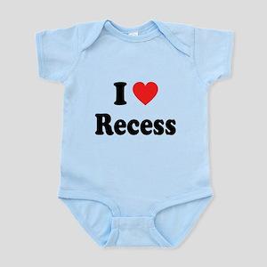 I Heart Recess: Infant Bodysuit