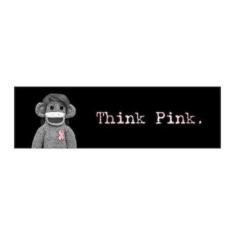 Think Pink Emma 20x6 Wall Peel