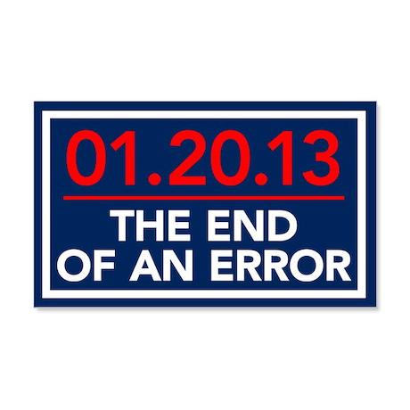 End Of An Error 20x12 Wall Peel