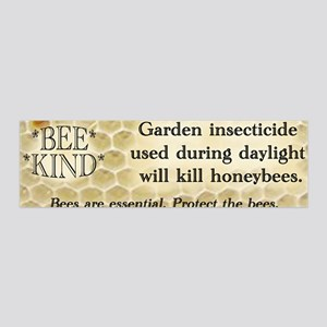 Bee Kind 36x11 Wall Peel
