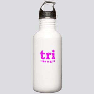 tri like a girl Stainless Water Bottle 1.0L