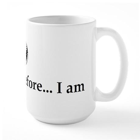 I Golf Therefore I am. Large Mug