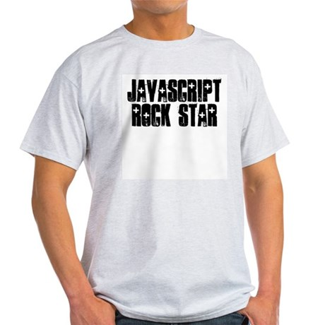 Javascript Rock Star Light T-Shirt