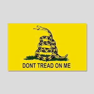 Gadsden Flag 20x12 Wall Peel