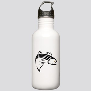 Striper Graphic Stainless Water Bottle 1.0L