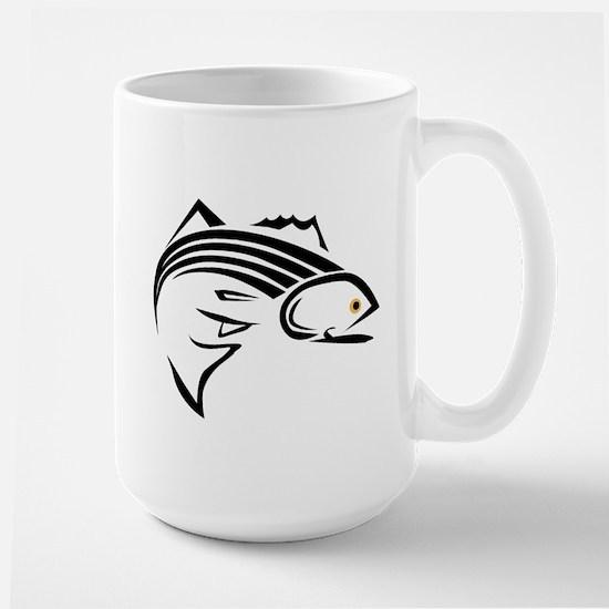Striper Graphic Large Mug