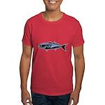 Graphic Blue Fish Dark T-Shirt
