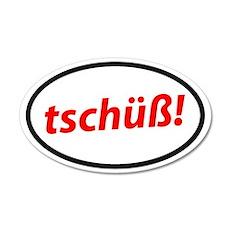 Tschüß! German Sticker