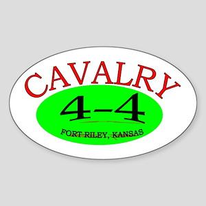 4th Squadron 4th Cav Sticker (Oval)