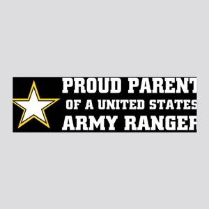 PROUD PARENT - ARMY RANGER 36x11 Wall Peel