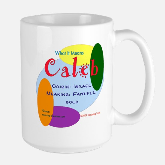 CALEB Name Mug (15 oz)