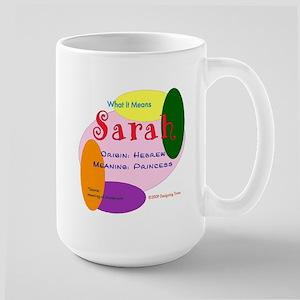SARAH Name Mug (15 oz)