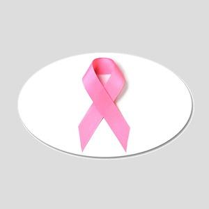 Breast Cancer Awareness 20x12 Oval Wall Peel