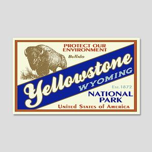 Yellowstone (Buffalo) 20x12 Wall Peel