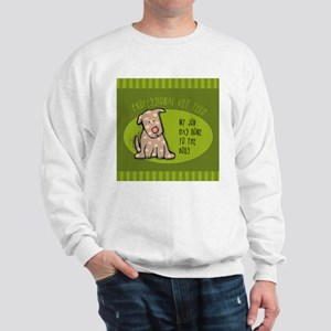 Funny Vet Tech Sweatshirt