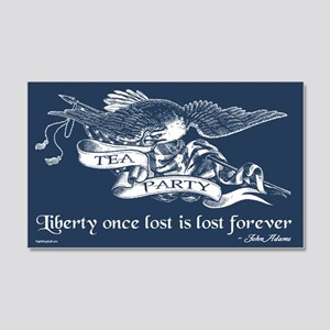 Adams Quote - Liberty 20x12 Wall Peel