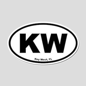 Key West 20x12 Oval Wall Peel